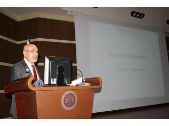 """Erzurum'da """"dilimiz Kimliğimizdir"""" Konferansı"""
