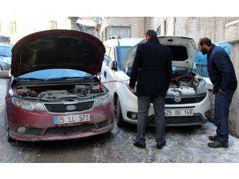 (özel Haber) Erzurum Buz Tuttu