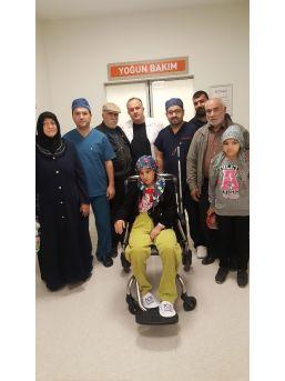 Maganda Kurşunu İle Başından Yaralanan Kadın Sağlığına Kavuştu