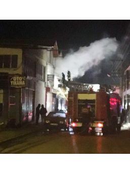Isparta Yeni Sanayi Sitesi'nde İşyeri Yangını