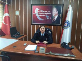 Daday'ın İlk Kadın Komiseri Görevine Başladı