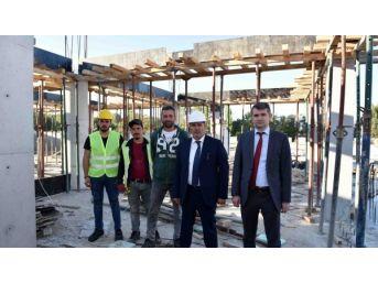 Taşköprü'de Şehirlerarası Otobüs Terminali İnşaatı Devam Ediyor