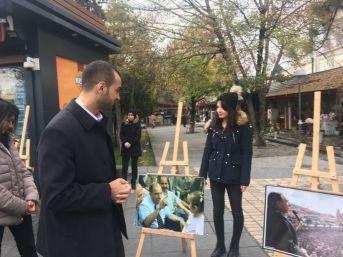 Kayseri Ülkü Ocakları'ndan Alparslan Türkeş Fotoğraf Sergisi