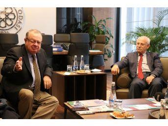 Kolombiya Büyükelçisi'nden Kto'ya Ziyaret