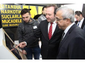 """""""narkotik Eğitim Tırı"""" Kırklareli Üniversitesi'nde"""