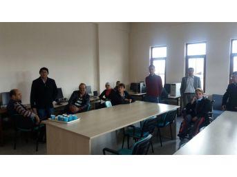 Akşehir'de Engelli Vatandaşlar İçin Bilgisayar Kursu