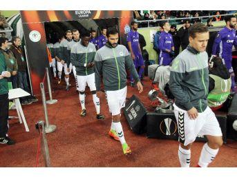 Uefa Avrupa Ligi: Atiker Konyaspor: - Marsilya: (ilk Yarı)