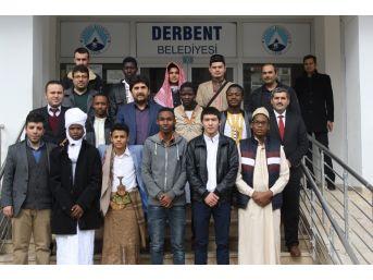 Yabancı Uyruklu Öğrenciler Derbent'te