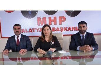 Mhp İstanbul Milletvekili Erdem, İl Teşkilatını Ziyaret Etti