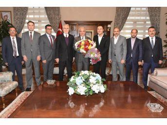 Vali Güvençer, Masidap Heyetini Ağırladı