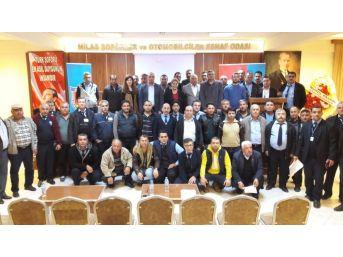 Milas'ta Şoförlere 'öfke Kontrolü' Eğitimi