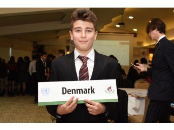 Muğla Bilsem Öğrencileri Model Birleşmiş Milletler Konferansında
