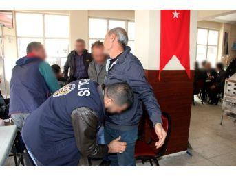 Nevşehir'de Yasa Dışı Bahis Oynatan Yerlere Operasyon Yapıldı
