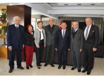 Başkent Niğde Vakfı'ndan Başkan Özkan'a Ziyaret
