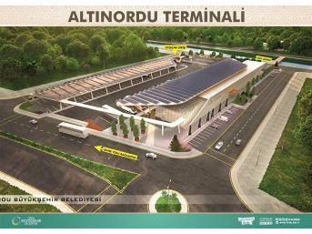 Altınordu Terminal İnşaatı Başladı