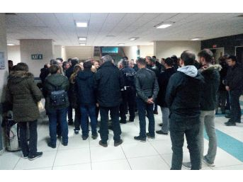 Merve Öğretmenin Polis Eşini Mesai Arkadaşları Yalnız Bırakmadı