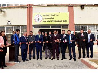 Başkan Atilla'dan Okullara Bayrak Ve Fidan