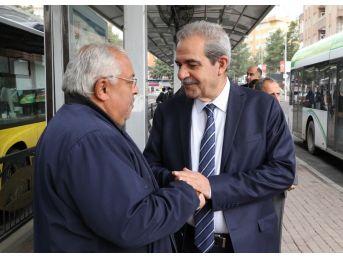 Başkan Demirkol, Halkla İç İçe Olmayı Sürdürüyor