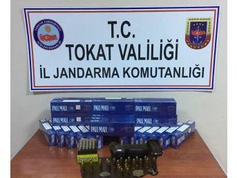 Tokat'ta Tarihi Eser Ve Kaçak Sigara Operasyonu