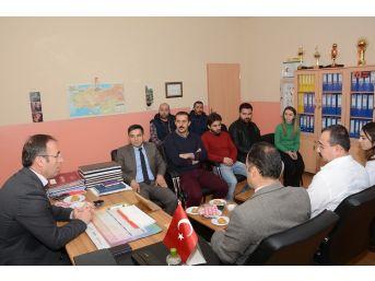 Akgül'den Öğretmenlere Anlamlı Ziyaret