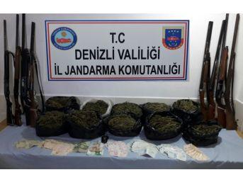 Uyuşturucu Tacirine Jandarma Baskını
