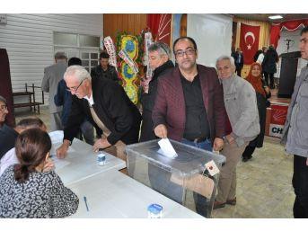 Chp Simav İlçe Başkanı Hasan Koç Yeniden Seçildi