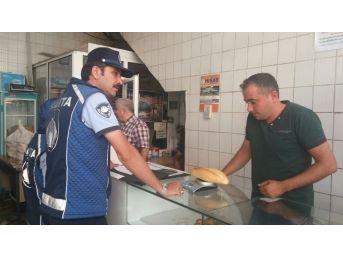 Simav'da Ekmek Gramajı Denetimi
