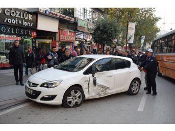 Malatya'da 5 Araç Birbirine Girdi