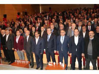 Chp Kozan İlçe Başkanlığı Olağan Kongresi'nde Erkan Karaoğlu Güven Tazeledi