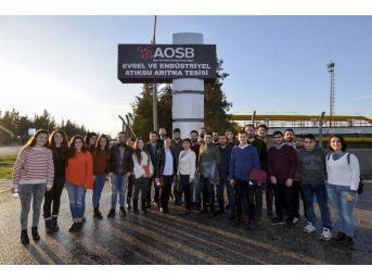 Geleceğin Kimya Mühendisleri Aosb'yi Gezdi