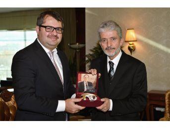 Başkan Tuna, Büyükelçileri Ağırladı