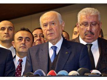 Bahçeli'den Seçim İttifakı Ve Ataşehir Belediye Başkanının Görevden Alınmasına İlişkin Açıklama