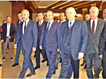 Bahçeli'nin Belediye Başkanlarıyla Toplantısı Sürüyor