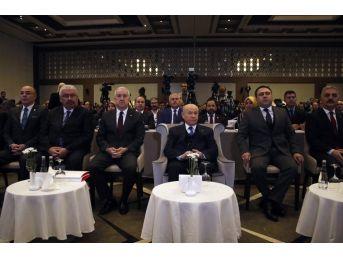 """Mhp Genel Başkanı Bahçeli: """"kudüs Trump Tarafından Dinamitlenmiştir"""""""
