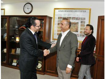 Başbakan Danışmanı Çavuşoğlu, Adü'yü Ziyaret Etti