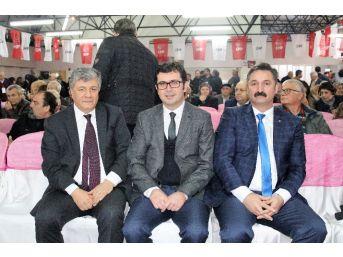 Chp Bergama'da Yeni Başkan Mehmet Ecevit Canbaz Oldu