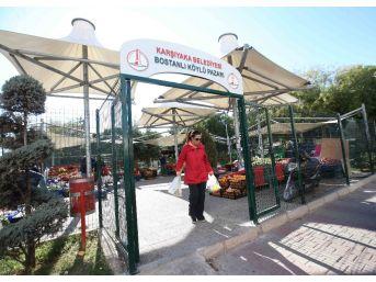 Karşıyaka'nın 'köylü Pazarı' Yenileniyor