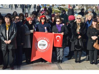 10 Aralık İlk Kadın Mitingi'nin 98'nci Yılı Kutlandı