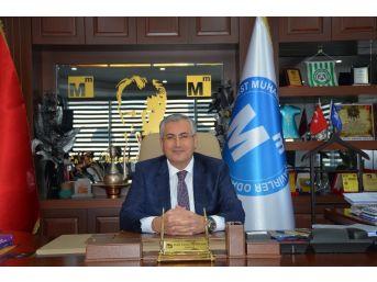 Konya Smmmo Başkanı Özselek'ten Abd'nin Kudüs Kararına Tepki