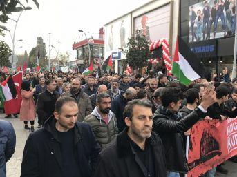 Kudüs İçin Yüzlerce Kişi Yürüdü
