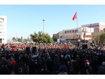 Samsun'da Kudüs Eylemi