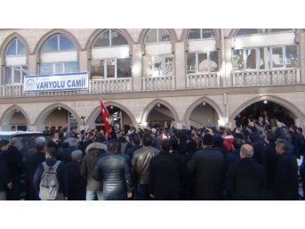 Erciş Ve Muradiye'de Abd Protestosu