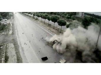 Van Ve Muş'ta Meydana Gelen Trafik Kazaları Mobese Kameralarına Yansıdı