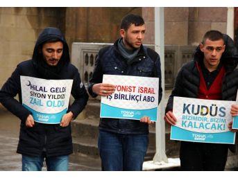 Tügva Yozgat İl Temsilciliği'nden Kudüs Protestosu