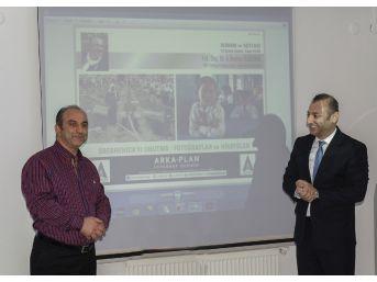 Tfsf Başkanı Özdemir, Arka Plan'da Srebrenica'ya Dikkat Çekti