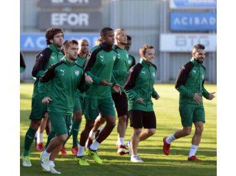 Bursaspor, Adanaspor Maçı Hazırlıklarını Tamamladı