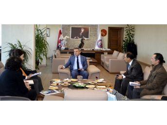 Kore Heyetinden Rektör Acer'e Ziyaret