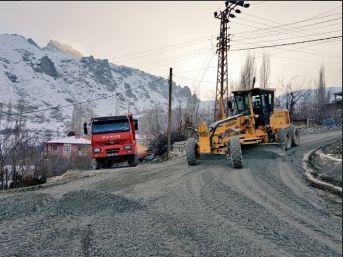Bağlar Mahallesi Yolunda Çalışma