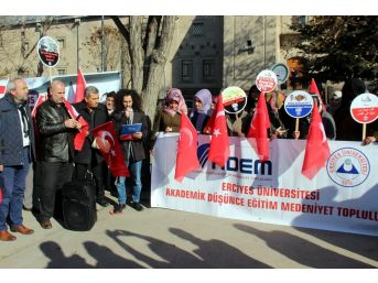 Adem'den Kudüs Protestosu
