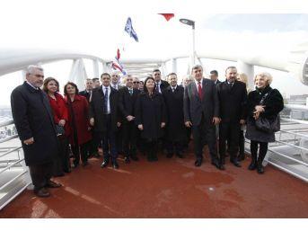 Dr. Sadık Ahmet Yaya Üst Geçidi Açıldı